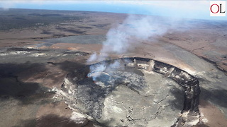 Earthquakes Near Kilauea Volcano Concern Hawaii - Video