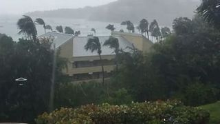 Strong Winds Sweep US Virgin Islands - Video