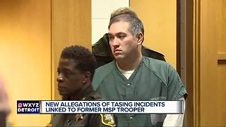 Man allegedly tased by former MSP trooper Mark Bessner says 'it's nothing new to him'