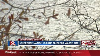 Cherokee Nation cleans nuclear waste site