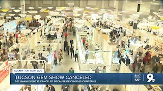 Tucson Gem & Mineral Show canceled for 2021