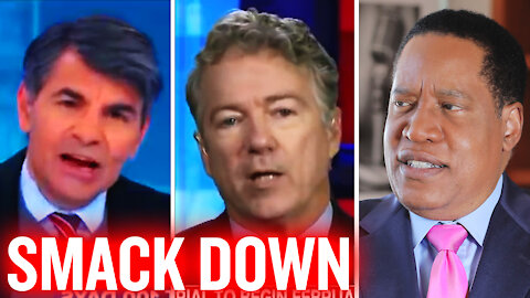 Rand Paul Smacks Down George Stephanopoulous And The Liberal Media | Larry Elder