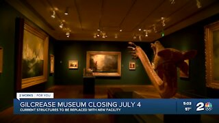 The Gilcrease Museum Closing while they build a new building