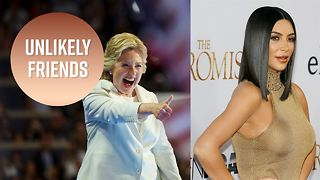 Are Kim Kardashian West and Hillary Clinton friends!? - Video