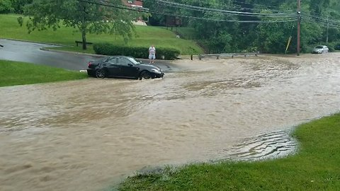 Torrent of Floodwater Poses Problems for Pittsburgh Motorists