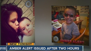 AMBER Alert issued after 2 hours