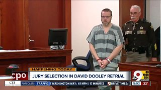 Jury selection begins in David Dooley retrial