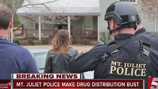 2 Arrested In Meth, Heroin Bust In Mt. Juliet - Video