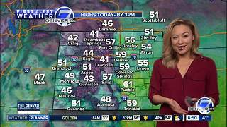 Sunny and dry for Colorado on Monday - Video