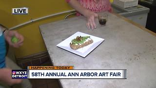 Food & Drink Sampling at the Ann Arbor Art Fair - Video