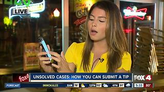 Unsolved cases: How you can submit a tip anonymously - Video