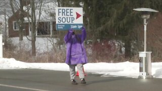 Orchard Park church makes a big difference with their monthly soup give-a-way