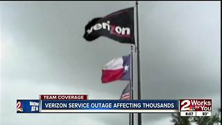 Verizon outage affected thousands - Video