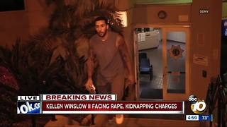 Rape, kidnapping charges against Kellen Winslow II