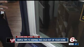Saving you money by keeping cold air out of your home - Video