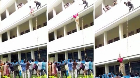 19-year-old Indian student dies after forced to jump off building during safety drill in college