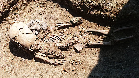 'Alien' Skeleton With Elongated Skull Found In Russia