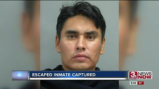 Escaped inmate taken into custody in Iowa