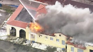 Four teens charged in massive fire