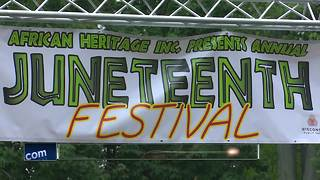 Hundreds enjoy Juneteenth Celebration - Video