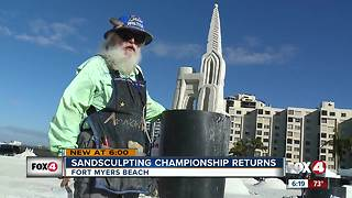 31st Annual American Sand Sculpting Championship - Video