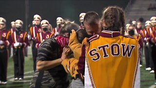 Guardsman returns from deployment, surprises family at Stow-Munroe Falls football game