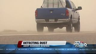 Dust detectors to warn drivers on I-10 - Video