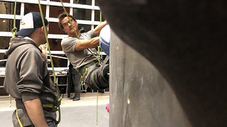 How Adaptive Climbing Is Helping Veterans Fight PTSD