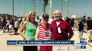 April is National Donate Life Month - Video