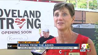 Loveland rises from the ashes