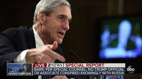 ABC News Special Report: Special Counsel finds Trump campaign did not conspire with Russia