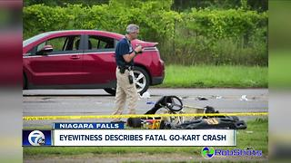 Witness describes fatal Niagara Falls go-kart crash - Video