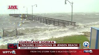 Tracking conditions in Jensen Beach
