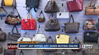 Don't get ripped off when buying online - Video