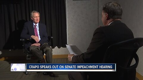 One-on-one sit-down with Senator Mike Crapo