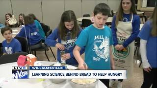 Mill Middle School students learning science to feed hungry