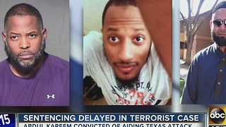 Sentencing delayed for Phoenix man convicted of Texas attack plot - Video