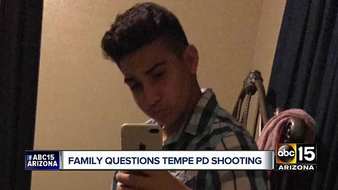 Family weighs in after 14-year-old shot and killed by Tempe police