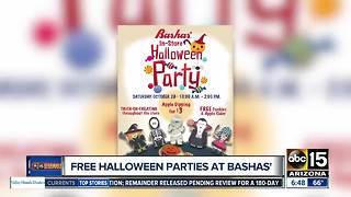 Free Halloween party at Bashas! - Video