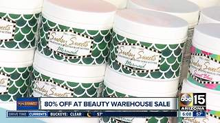 Score big beauty deals at a warehouse sale - Video