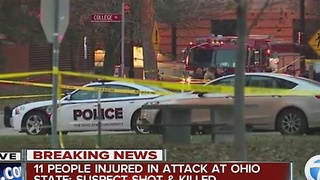 Suspect killed in Ohio State rampage - Video