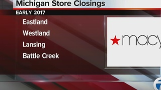 Macy's closing stores nationwide - Video