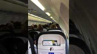 Pilot Intervenes After Passengers' Politically Charged Dispute Following Election - Video