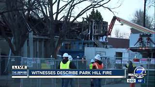 Body found in smoldering debris after massive Denver fire; 1 still unaccounted for - Video