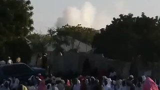 Deadly Blast Rips Through Mogadishu's Old Town - Video