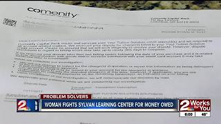 2 Works For You Problem Solvers: Learning center pays back money owed - Video