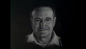 Drawing Robin Williams - A tribute - Video