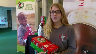 Operation Christmas Child uses shoeboxes to make a big impact - Video