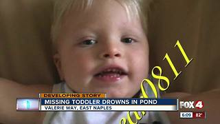 2-year-old Naples boy drowns in pond - Video