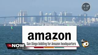 San Diego to enter bid for Amazon headquarters - Video